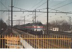 Amtrak E 60 at Rahway NJ