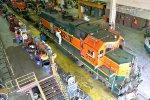 BNSF 2137 at Galesburg