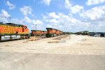 BNSF 5455, 4734, 5366 at Galesburg