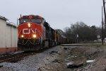 CN Nortbound Empty Coal Train