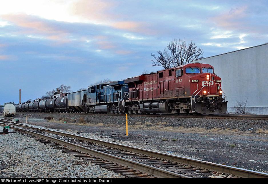 CP 8853 on K-408