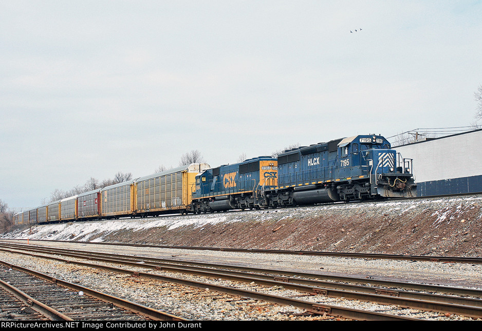 HLCX 7195 on Q-268