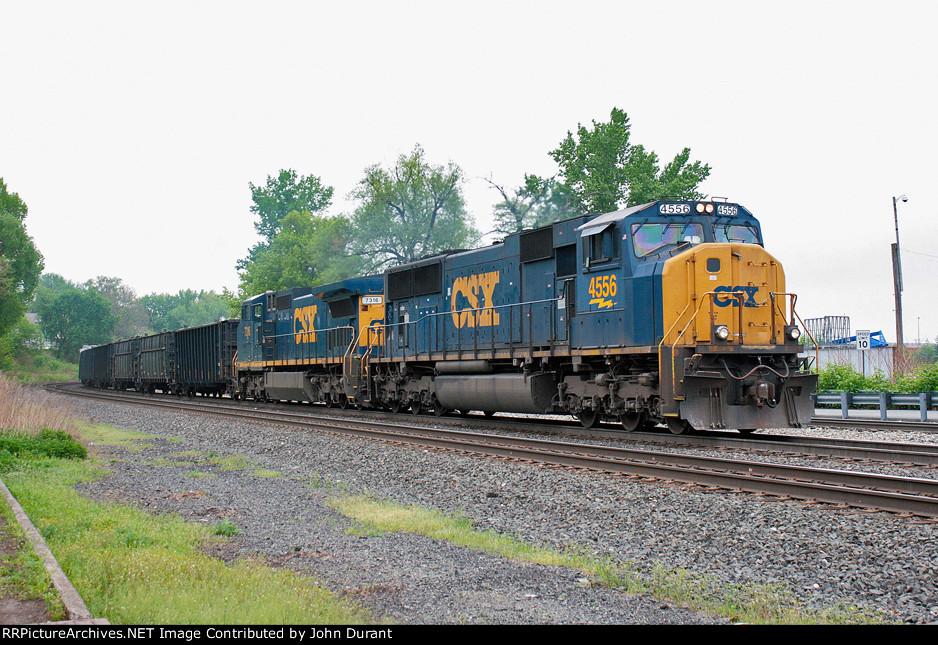 CSX 4556 on Q-434