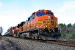 BNSF 4645 on K-138