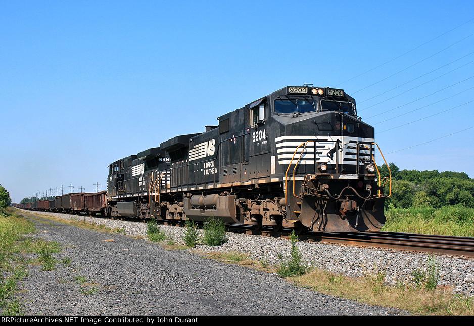 NS 9204 on 61N