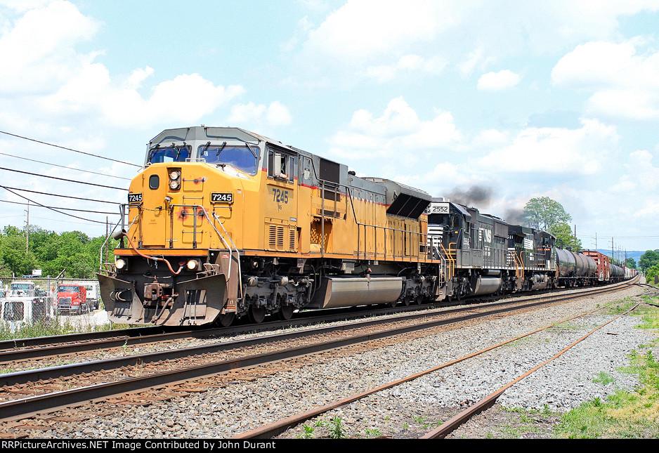 NS 7245 on 38G