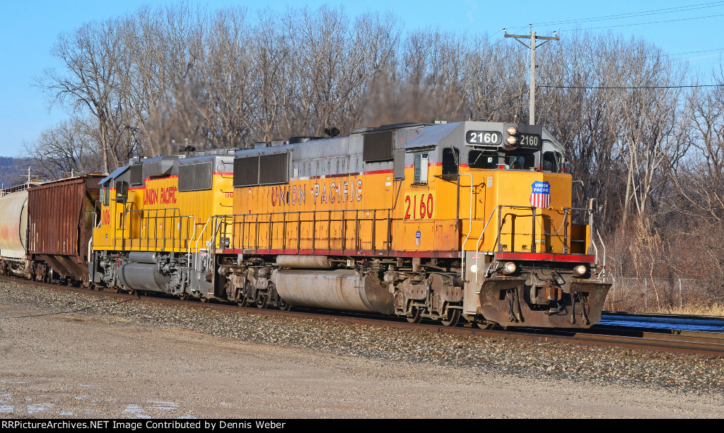 UP 2160, CP's  Tomah   Sub.