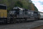 NS SD70 2557 trails on 10G