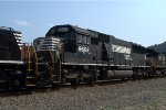 NS SD60 6602 trails on 10G