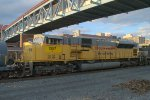 NS SD9043MAC 7287 trails fourth out on 16G