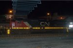 CN C40-8 2116 trails on 24Z