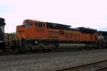 BNSF SD70ACe 9078 trails on 37A