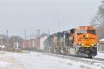 BNSF 7956 On CSX Q 507 Eastbound
