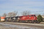 CP 8909 On NS 215 Eastbound