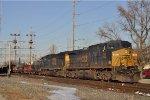 CSXT 232 On CSX K 587 Southbound