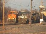BNSF 8059 & NS 9282 at Toledo, OH
