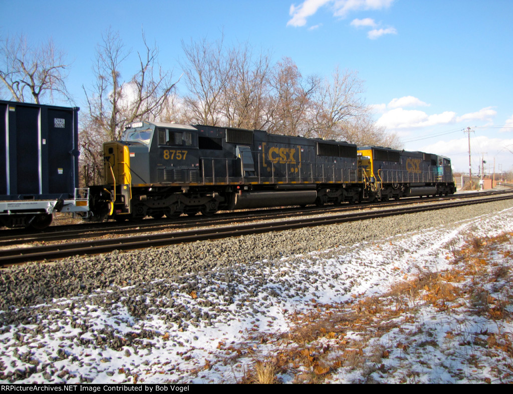 CSX 8757 and 8758