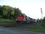 CN 5473 leads Train 114