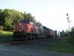 CN 2283 leads Train 104