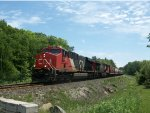 CN 2863 leads Train 301