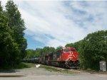 CN 2846 lead Train 704