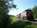 CP 8638 leads CP Train 118