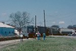 With the CSX local out of the way, Pickens 5 comes out on the mainline and leaves for Belton.