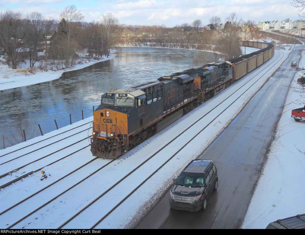 CSX 3118 and 3086