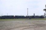 CSXT locos at TRRA's Madison IL yard