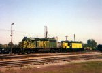 MKT SD40-2 607 at CNW's Madison IL yard