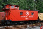 Delaware and Hudson Caboose #35886