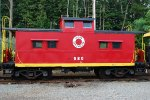 Lehigh and New England Caboose #580