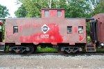 Erie Railroad Caboose C(?)77
