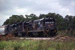 CSX 3305 holds the main