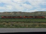 BNSF locos