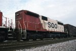 SOO 6450 trails in #214's consist