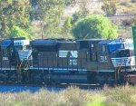 NS SD80MAC out in Southern California