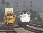 SCAX 859 and BNSF 3189
