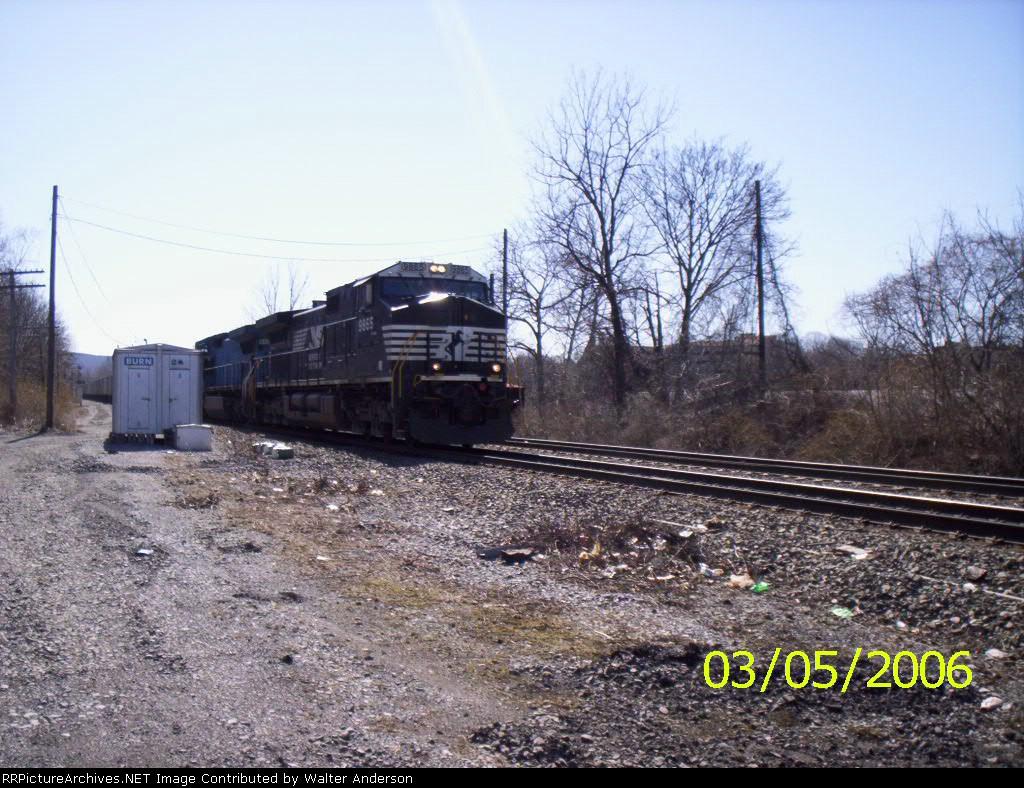 NS 9865 at CP BURN