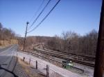 The eastside arrival tracks