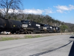 NS 9658 trails on NS 162