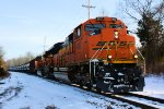 BNSF 9137 CSX Train K138 Crude Oil Loads