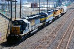 CSX 8128 RCPE 6055 UP 3772 Ethanol Train Power