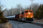 BNSF 8582 CSX Train K042 Crude Oil Loads