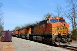 BNSF 5677 CSX Train K040 Crude Oil Loads