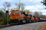BNSF 6561 K139 Crude Oil Empties
