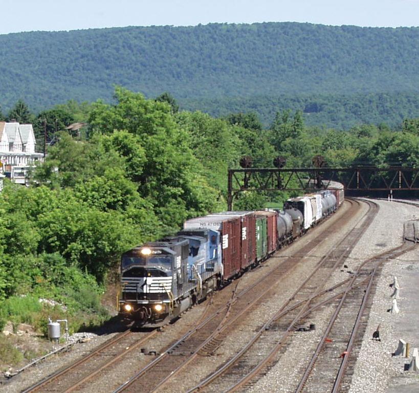 Eastbound Manifest Train