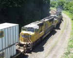Black & Gold Team to Haul a Westbound Stack Train
