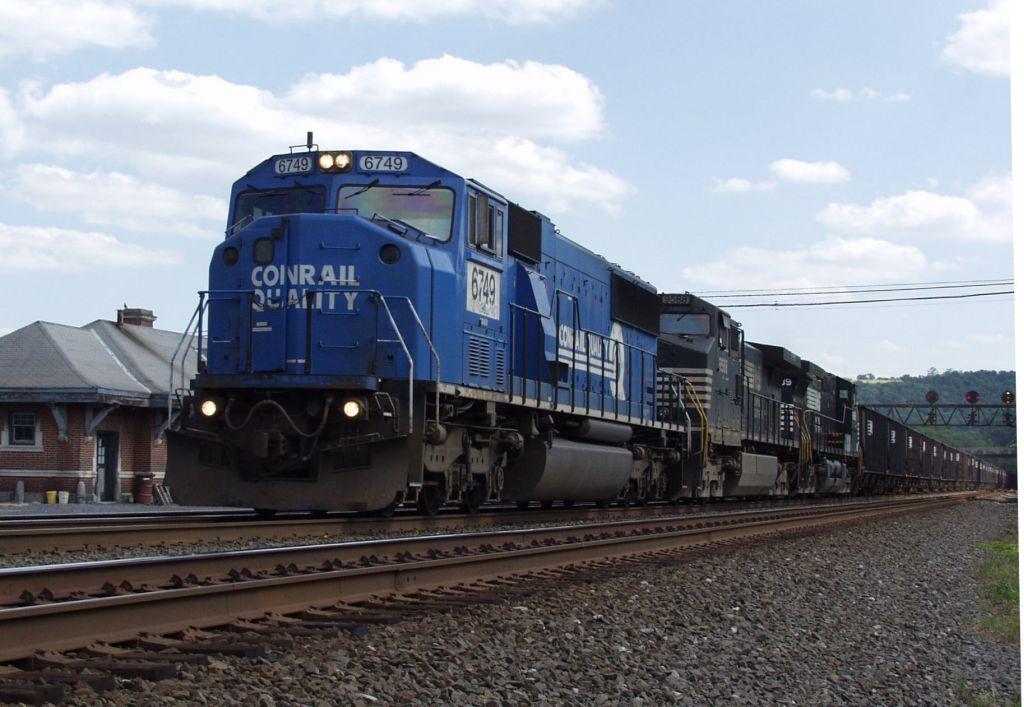 Empty Westbound Coal Train