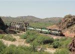 RCPE 6414 crosses Wickenburg Canyon